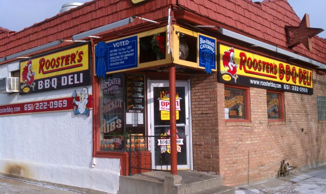 Roosters BBQ - Exterior