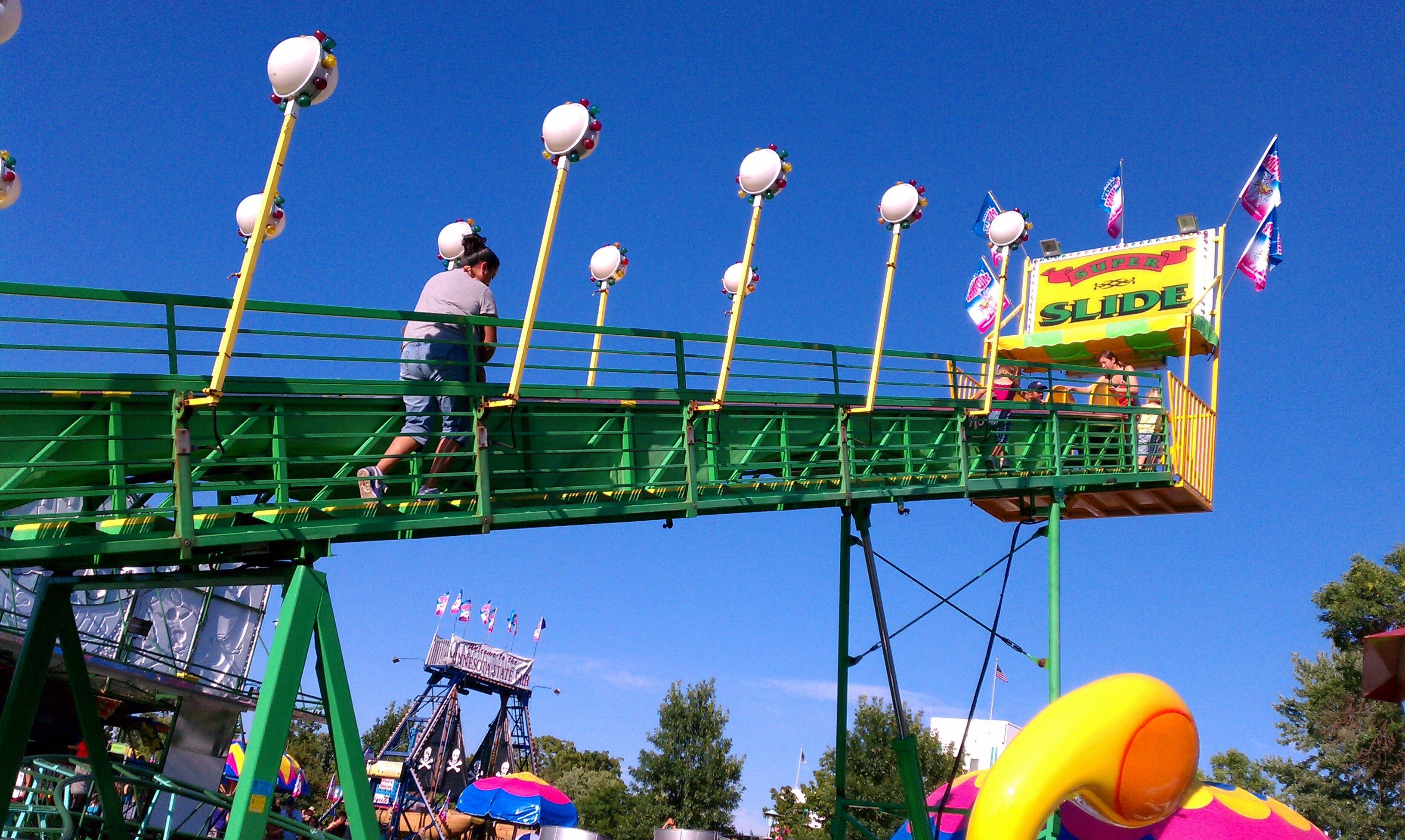 the state fair The minnesota state fair is a quasi-state agency that is completely self-supporting the fair has not received any public money or government appropriations of any kind since 1949 the fair.